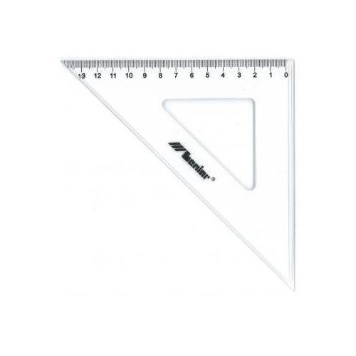 Ekierka plastikowa dla leworęcznych 45/21cm x1 marki Przybory kreślarskie