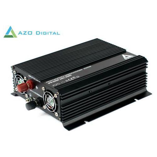 Azo digital Samochodowa przetwornica napięcia 24 vdc / 230 vac ips-2000 2000w (5905279203747)
