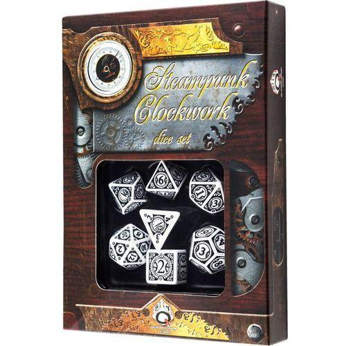 Komplet steampunk - clockwork - biało-czarny - poznań, hiperszybka wysyłka od 5,99zł! marki Q-workshop