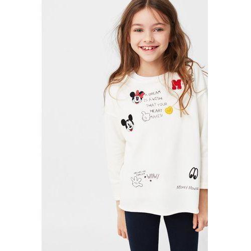 Mango Kids - Bluza dziecięca Mickeys 104-164 cm