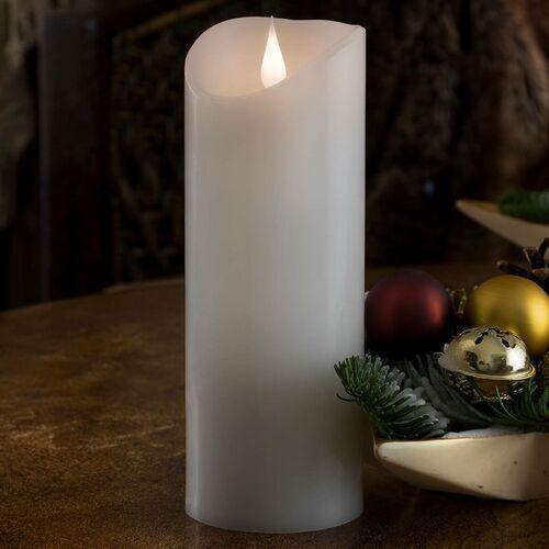 Konstsmide christmas Świeca led prawdziwy wosk, z płomieniem 3d