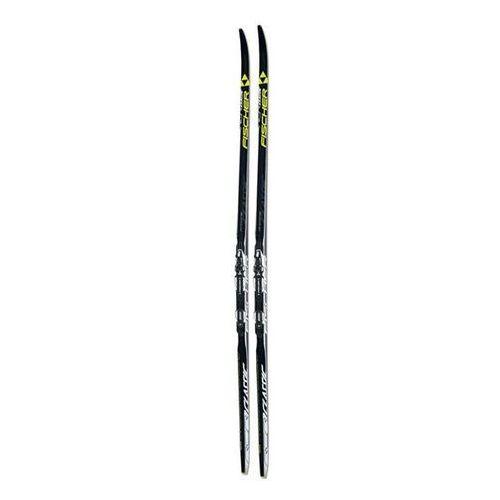 rcr classic medium stiff + xc exercise cl - narty biegowe z wiązaniem r. 197 cm marki Fischer