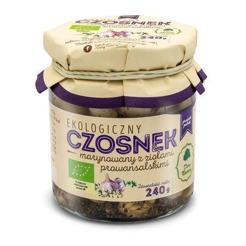 Dary natury - inne bio Czosnek marynowany z ziołami prowansalskimi bio 190 g - dary natury