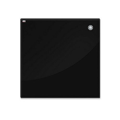 Tablica szklana magnetyczna suchościeralna 45x45cm czarna tsz4545 b marki 2x3