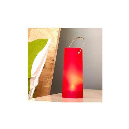 Przenośna lampa LED PAVILLIA czerwona