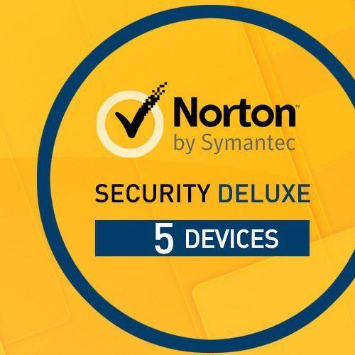 Norton security deluxe 5 pc / 1 rok marki Symantec