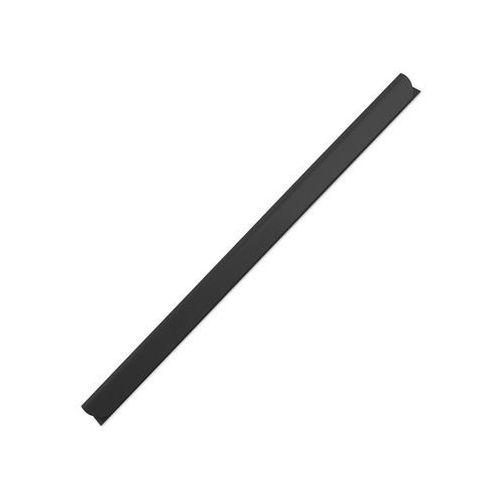 Listwy Czarne A4/12 Mm Do Oprawy Grzbietowej Wsuwane Leitz, 25 Szt., 10K163A