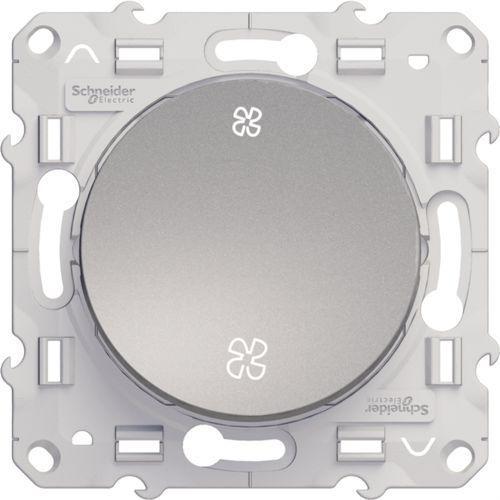 Schneider Łącznik wentylatora podtynkowy odace s530233 aluminium (3606480391453)