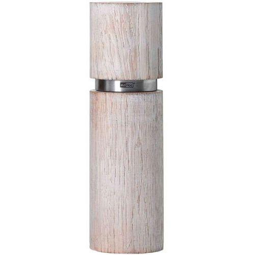 Młynek do pieprzu lub soli 20 cm textura antique grande biały (a-mp26) marki Adhoc