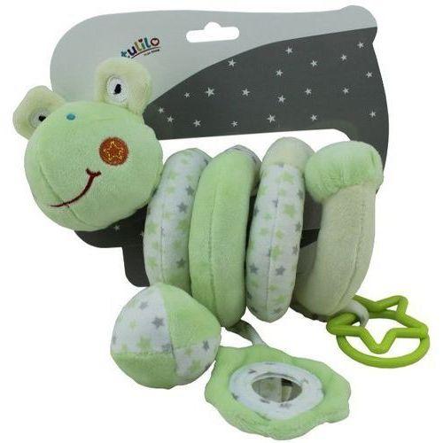 Axiom Sprężynka pluszowa new baby żabka z dźwiękiem - darmowa dostawa od 199 zł!!! (5902002060684)