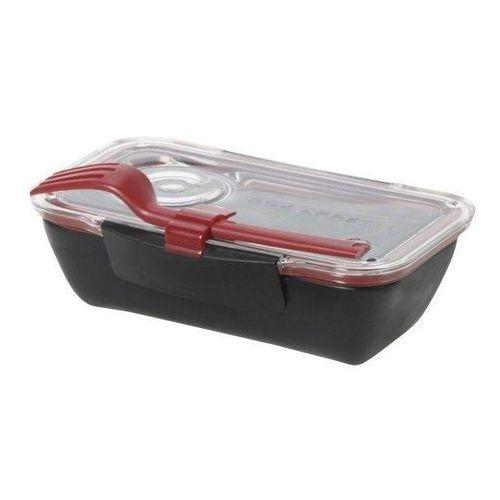 Pudełko na lunch Bento czerwono-czarne (5060089721444)