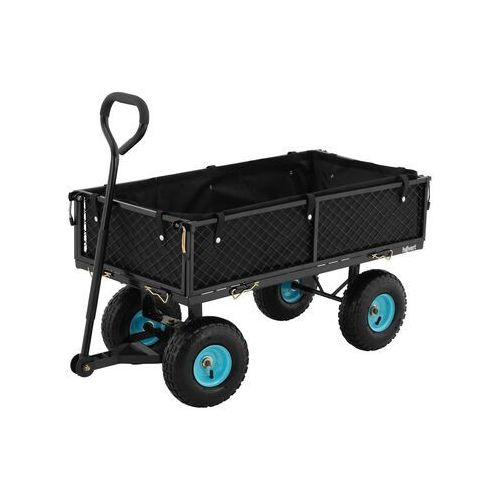Hillvert wózek ogrodowy - składany - 300 kg ht-twin 300 - 3 lata gwarancji