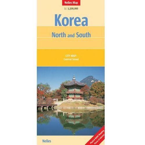 Korea Północna i Południowa. Mapa 1:1 500 000 (ISBN 9783865742445)