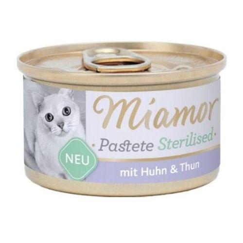 sterilised kura+tuńczyk pasztet dla kota puszka 85g marki Miamor