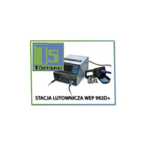 Stacja lutownicza 992d+ 2 w 1 + kompresor marki Wep