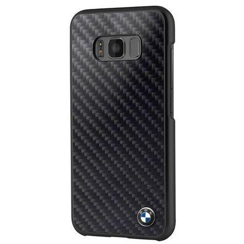 real carbon fiber case - etui samsung galaxy s8 (czarny) marki Bmw