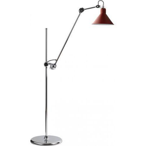 Lampe gras n°215 - lampa podłogowa - chrom/czerwony