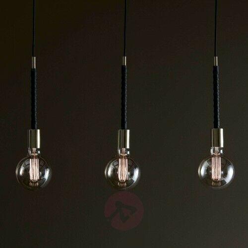 3-punktowa lampa wisząca saddle marki MarkslÖjd