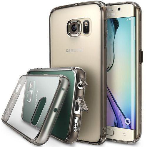 Orygianlne etui Ringke Fusion Samsung Galaxy S6 Edge Smoke Black - Smoke Black