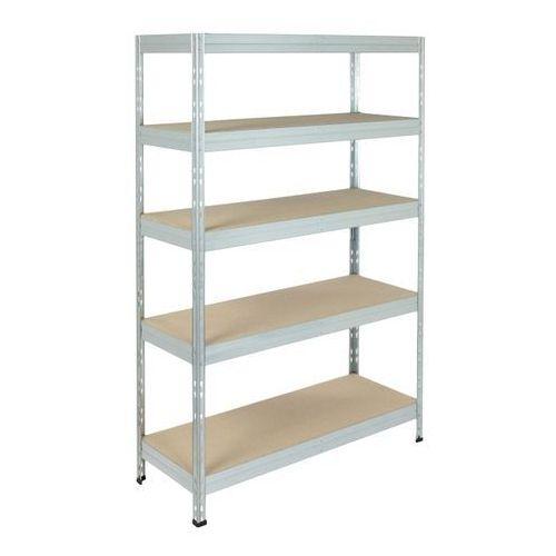 Regał metalowy Form Exa 180 x 120 x 45 cm 5 półek 300 kg ocynk, SAKRG451801205300Z