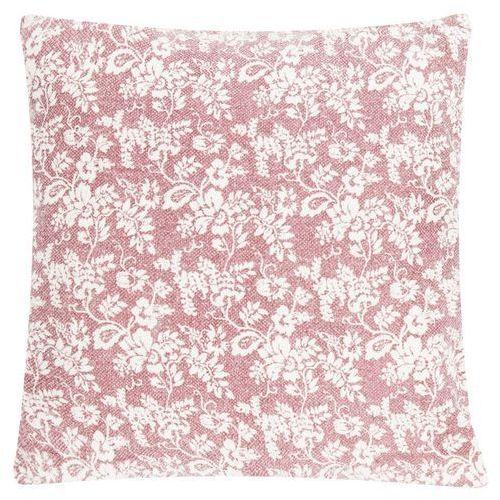 Poduszka Flower Garden Blush 60x60 - kremowy ||czerwony, D2-8781