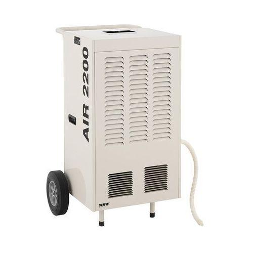 MSW Osuszacz powietrza - przemysłowy - 158 l/24 h - 120 m² MSW-DEH2000A - 3 LATA GWARANCJI