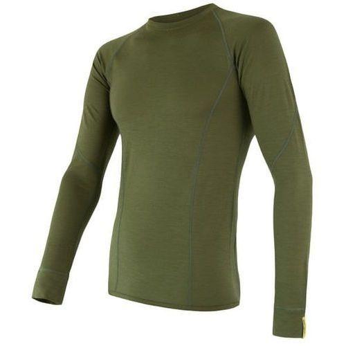 Sensor koszulka termoaktywna z długim rękawem merino wool active m safari xl