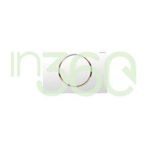 Geberit sigma10 przycisk uruchamiający, przedni, biały-złoty-biały 115.758.kk.5