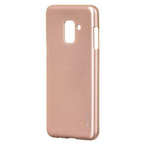 Etui Mercury Goospery I-Jelly żelowe Samsung Galaxy A8 2018 A530 różowe, 38064