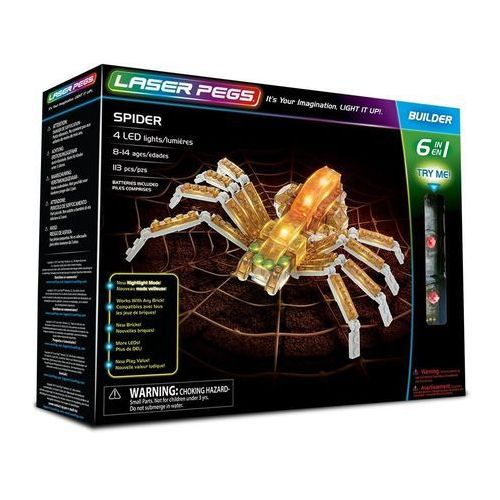 6 in 1 Spider - Laser Pegs