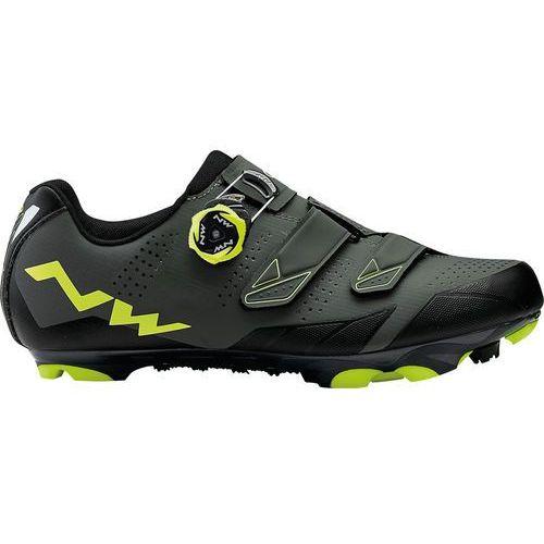 scream 2 plus buty mężczyźni żółty/czarny 47 2018 buty mtb zatrzaskowe marki Northwave