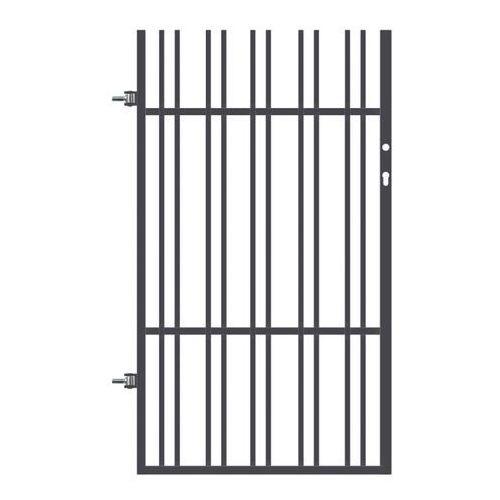 Polbram steel group Furtka paros z elektrozaczepem 90 x 158 cm lewa (5903641453110)