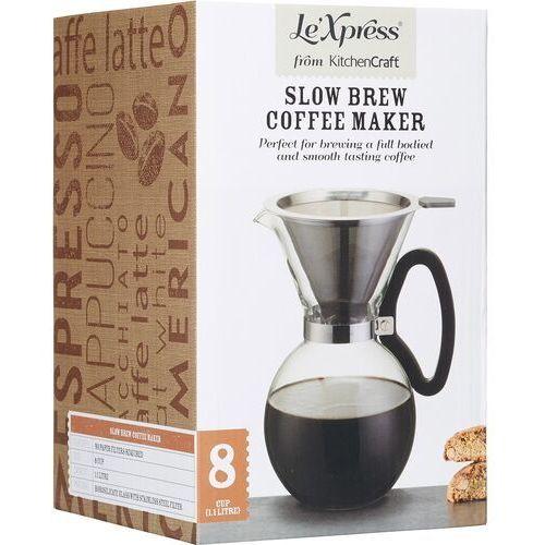 Kitchen craft Dzbanek z filtrem do wolnego parzenia kawy lexpress (5028250666741)