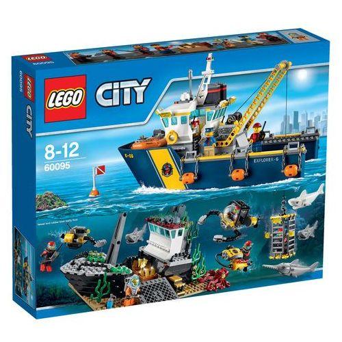 Lego City Statek do badań głębinowych 60095, klocki do zabawy