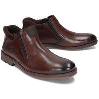 b5582-25 brown, botki męskie marki Rieker