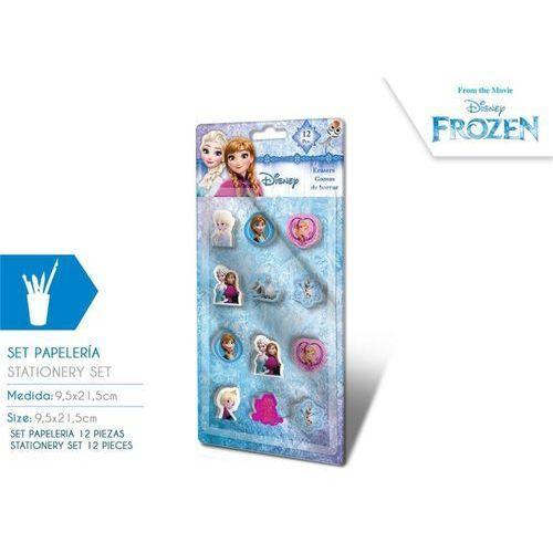 Gumki do mazania Frozen - Kraina Lodu 12 szt