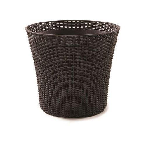 Doniczka conic planter 56,5 l mokka + zamów z dostawą jutro! marki Keter