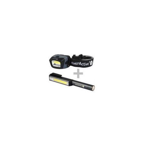 Zestaw latarek hl-150 + wl-200 marki Everactive