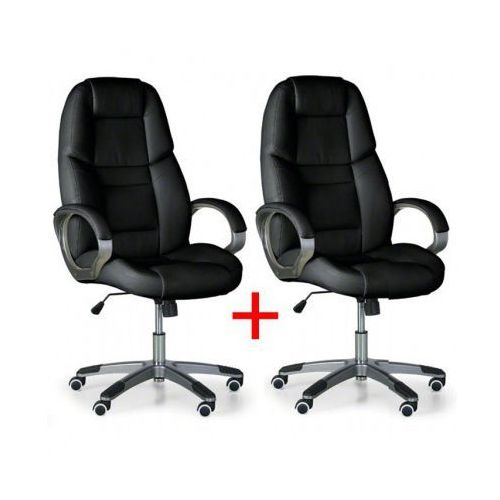 B2b partner Krzesło biurowe kevin 1+1 gratis, czarny