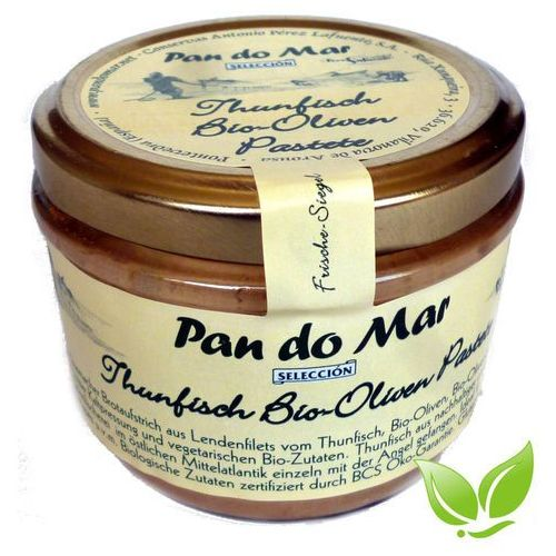 Pate z tuńczyka i bio oliwek 500g bio wyprodukowany przez Pan do mar