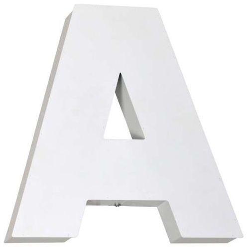 Kinkiet lampa ścienna Aldex Literka A 2x40W E14 biała 797S/A (5904798636531)
