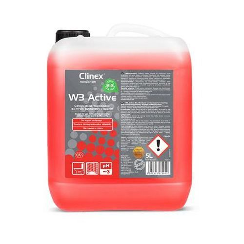 Clinex Preparat w3 active bio 5l 77-517, do mycia sanitariatów i łazienek (5907513272090)