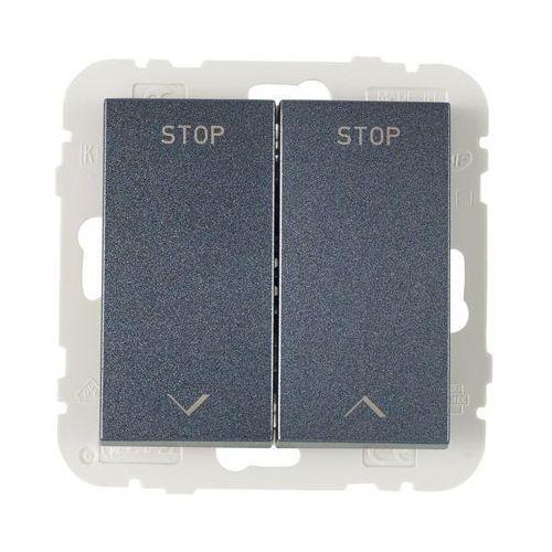 Efapel Włącznik żaluzjowy logus 90 grafit (5603011638009)