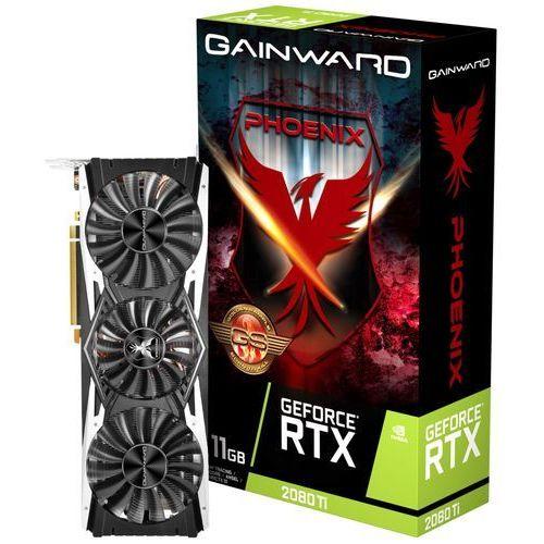 Gainward Karta graficzna RTX 2080 Ti Phoenix GS 11Gb GDDR6 352bit HDMI/DP/USB-c (4260183364122)