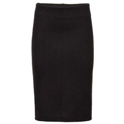 Elastyczna spódnica żakardowa bonprix czarny