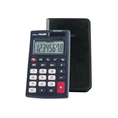 Kalkulator 8-pozycyjny czarny