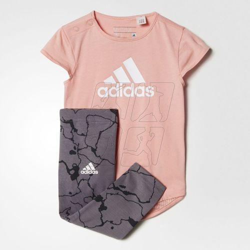 Komplet adidas Mini Me Girls Set Kids BK3016, BK3016