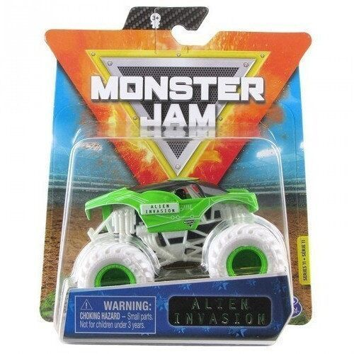 Spin master Pojazd monster jam auto, alien invasion