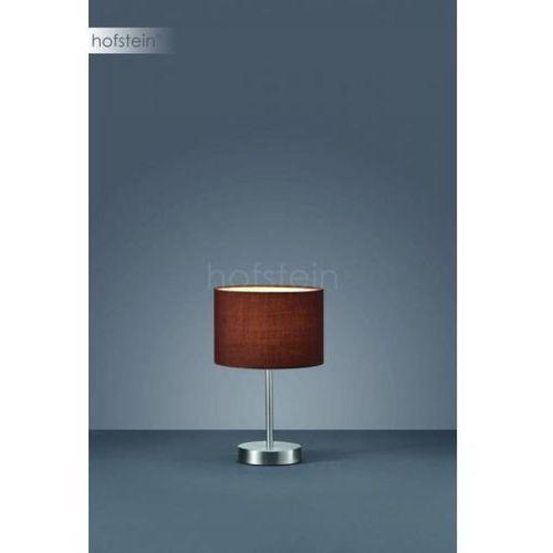 Trio 4611 lampa stołowa Nikiel matowy, 1-punktowy - Dworek/Vintage/skandynawski - Obszar wewnętrzny - HOTEL - Czas dostawy: od 3-6 dni roboczych, 501100114