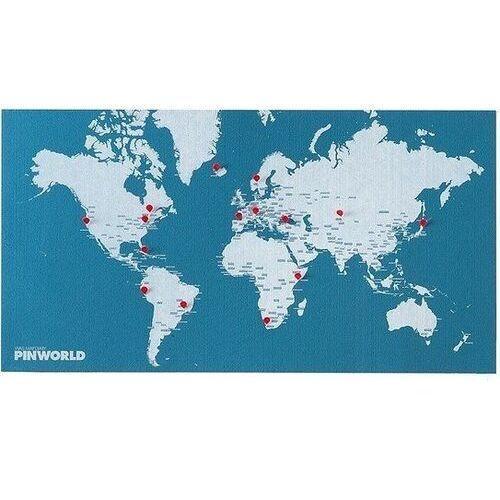 Dekoracja ścienna Mini Pin World jasnoniebieska (8033020511074)